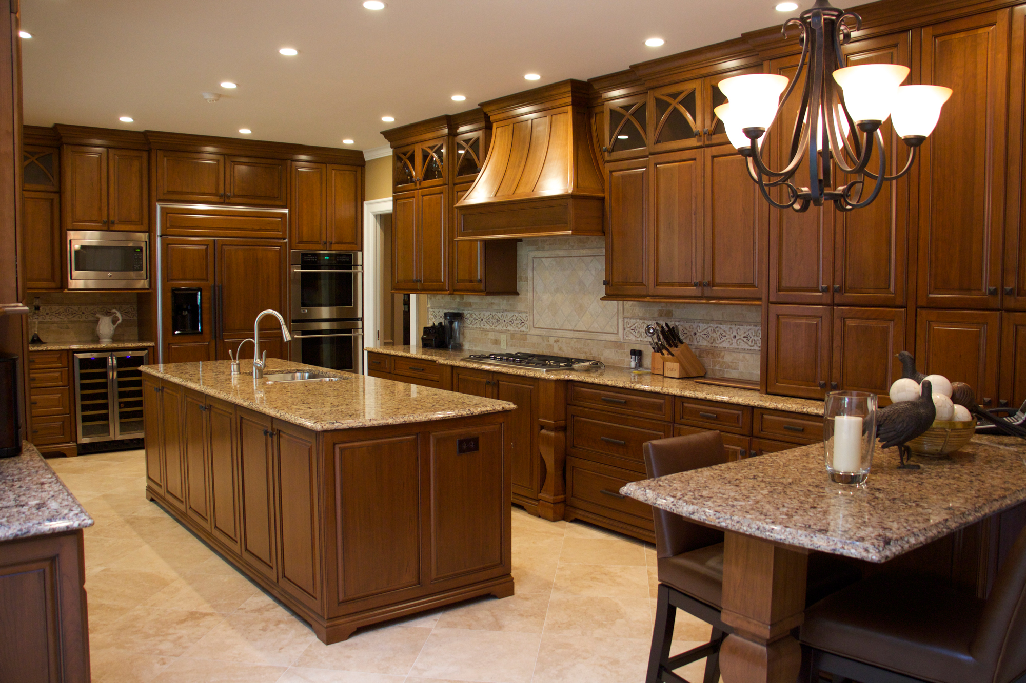 Mikeu0027s Woodworking U2013 Custom Kitchen Cabinets