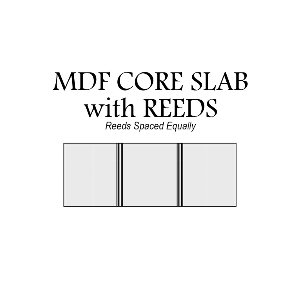 door-catalog-drawer-front-MDF-core-slab-with-reeds