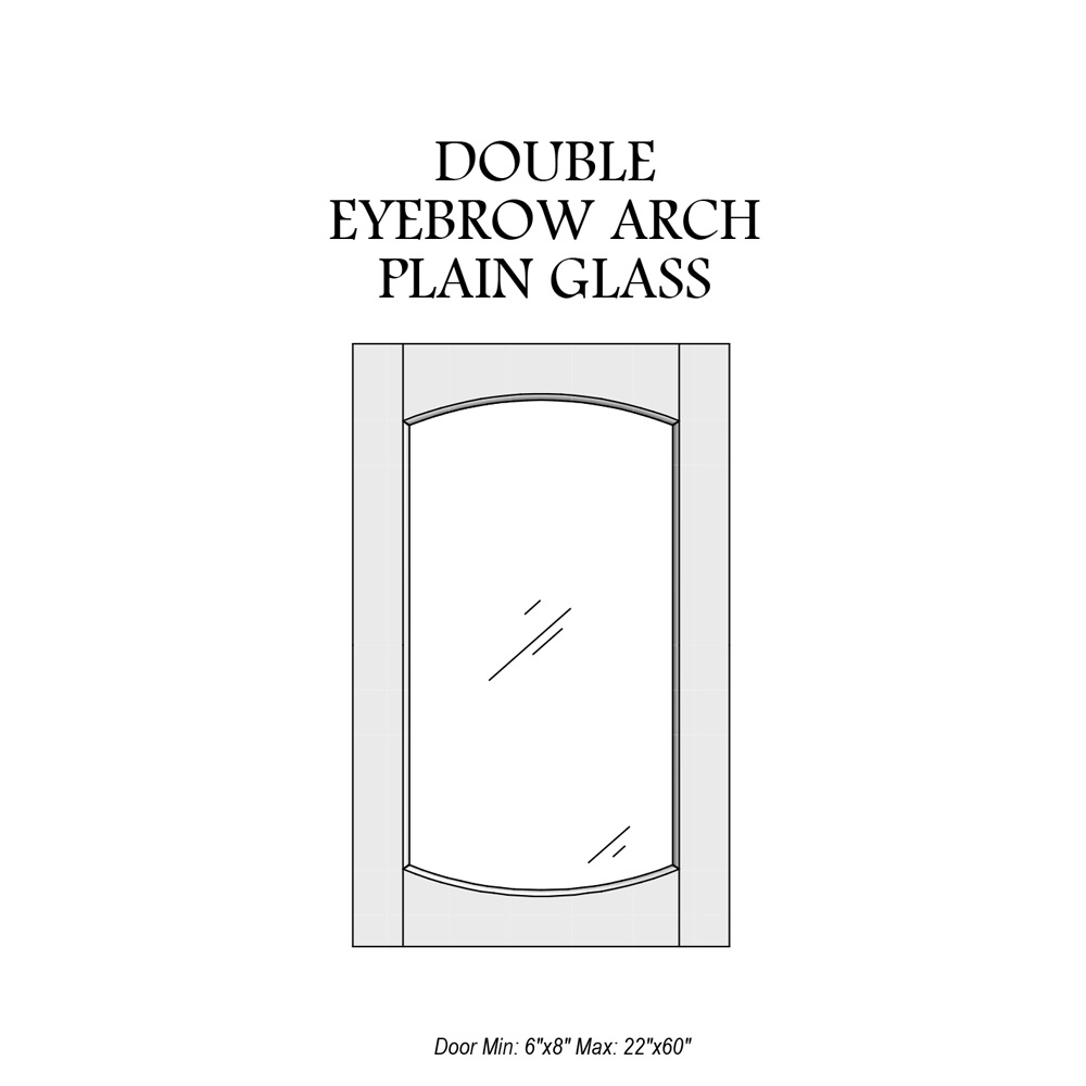 door-catalog-glass-panel-double-eyebrow-arch-plain