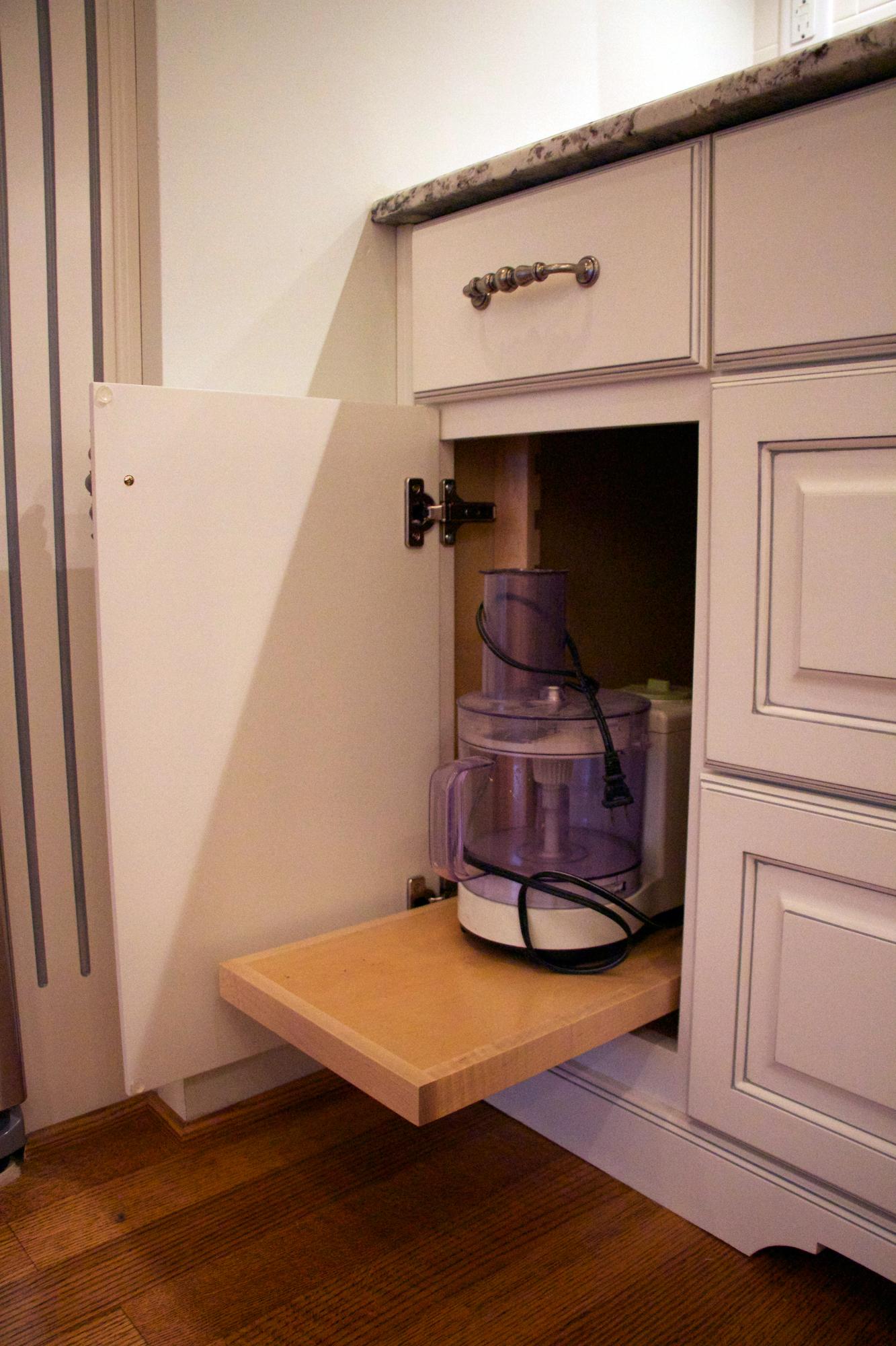 Mixer-Shelf
