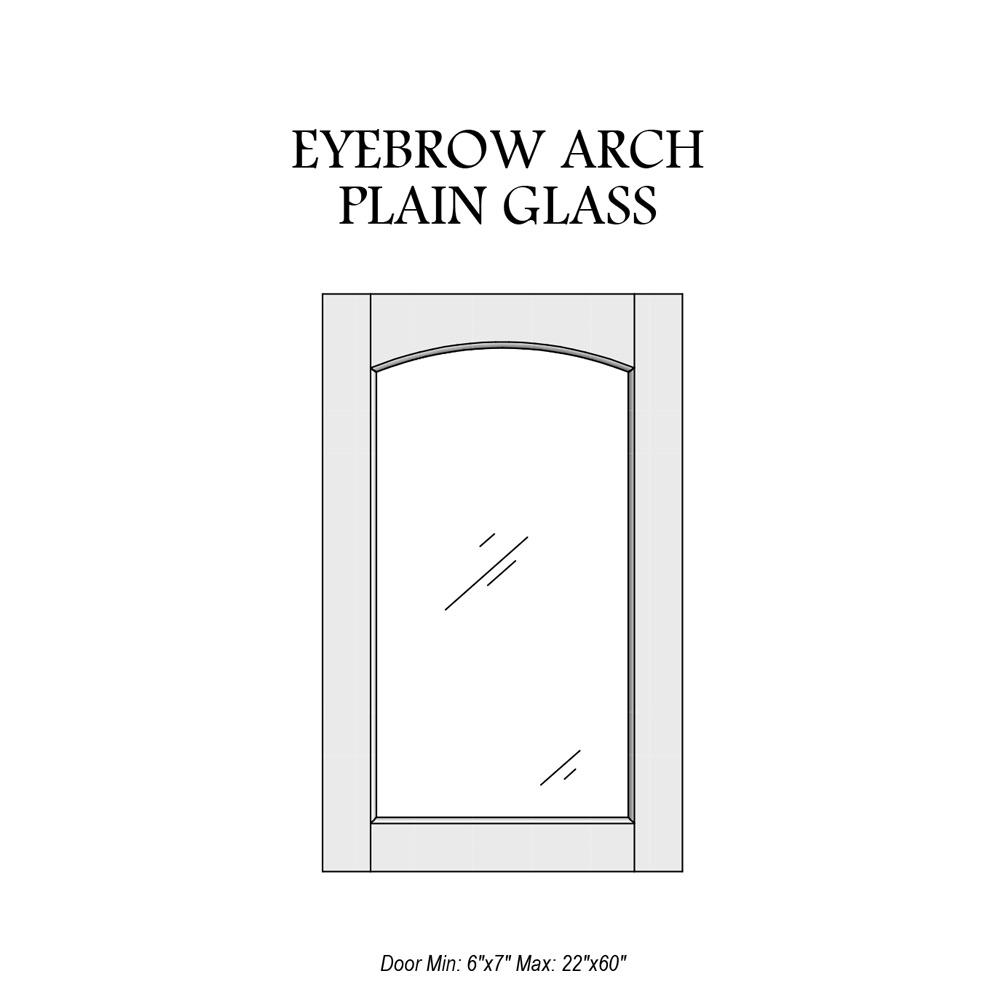 door-catalog-glass-panel-eyebrow-arch-plain