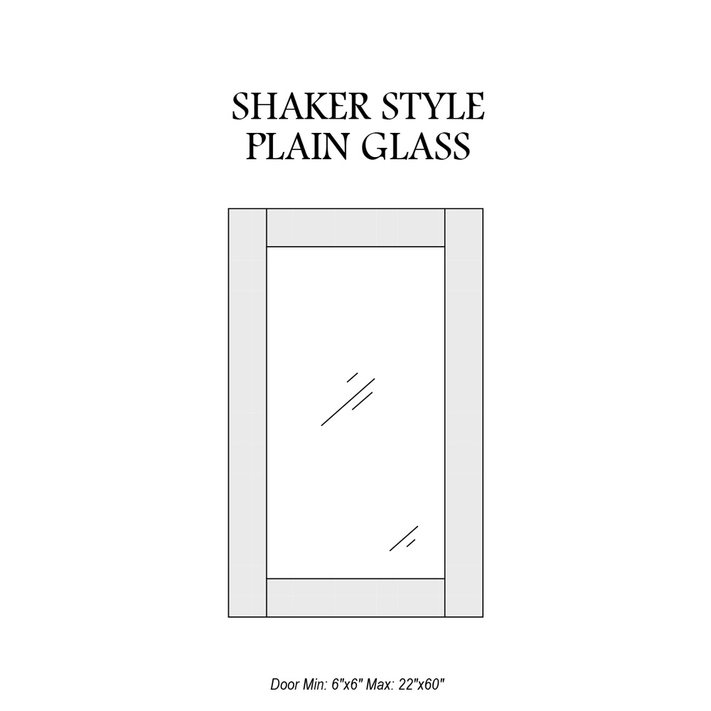 door-catalog-glass-panel-shaker-plain
